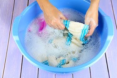 Фото: Как отстирать песок от купальника?